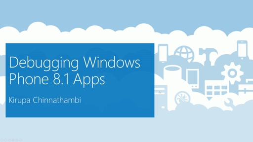 Debugging Windows Phone 8.1 Apps