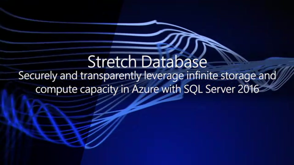 Getting started with Stretch Database