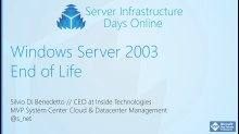 Windows Server 2003 EoS: Migrazione Domain Controller