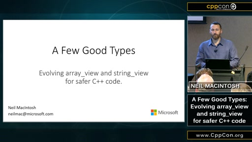 A Few Good Types: Evolving array_view and string_view for safe C++ code