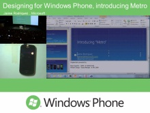 Application development, Integrating with Windows Phone hardware and the services