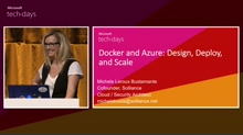 Docker and Azure: Design, Deploy, and Scale