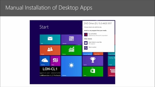 Preparing for the Windows 8.1 MCSA Certification: (04) Implementing an Application Strategy for Windows 8.1
