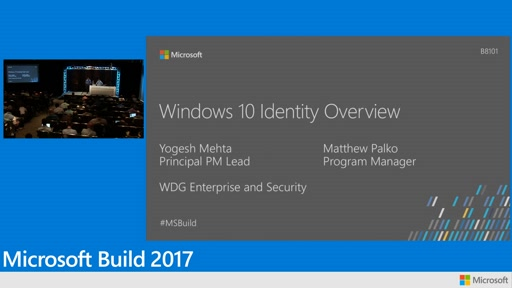 Windows 10 identity overview
