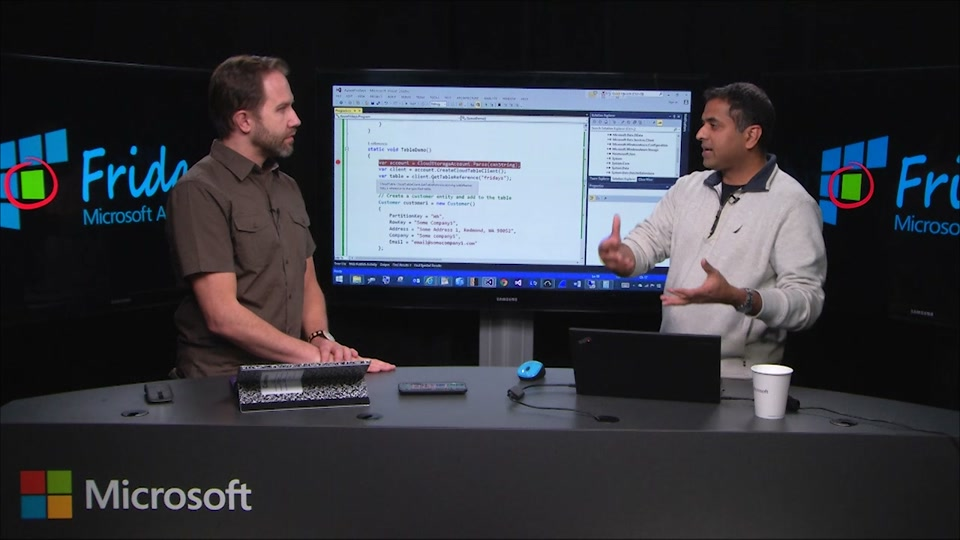 Azure Table Storage 101 with Jai Haridas
