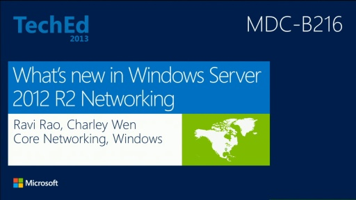 What's New in Windows Server 2012 R2 Networking
