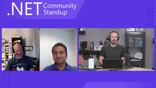 ASP.NET Community Standup - August 6th 2019 - ASP.NET Core A to Z eBook with Shahed Chowdhuri