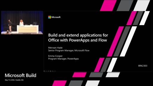 Build and extend applications for Office 365 with PowerApps and Flow
