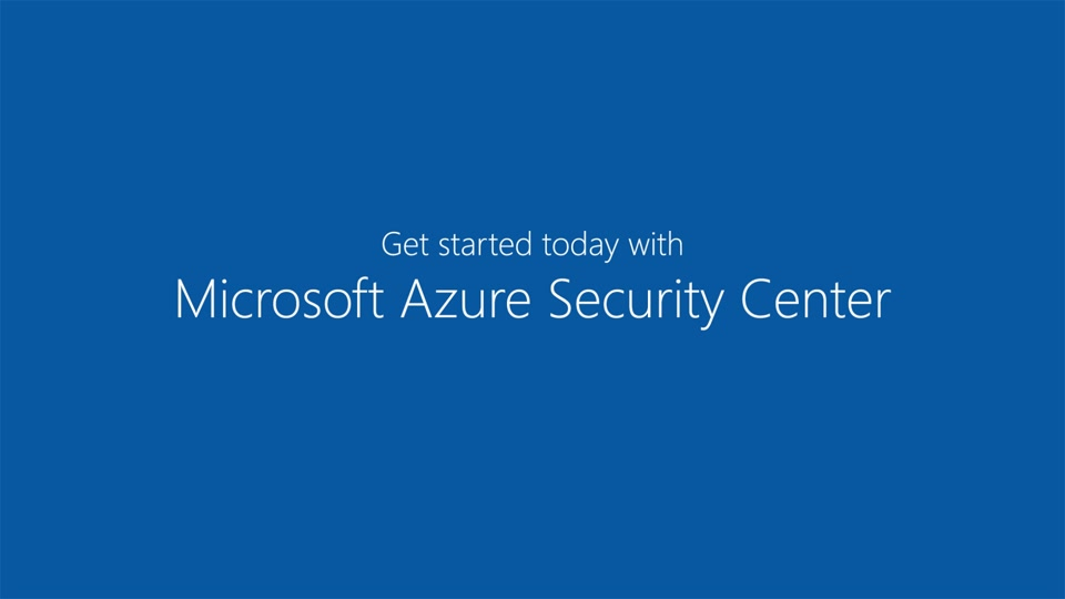 Introduction to Azure Security Center