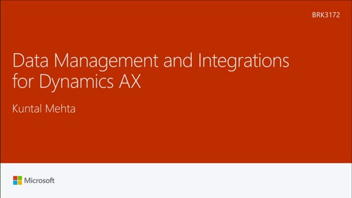 Integrate with Microsoft Dynamics AX