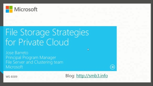 File Storage Strategies for Private Cloud