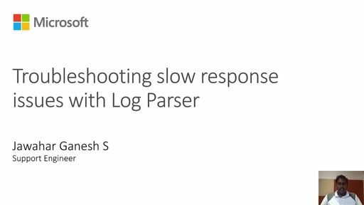 Troubleshooting IIS and ASP.NET Issues with Log Parser - Slow Performance -1