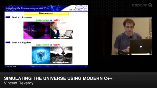 Simulating the Universe Using Modern C++