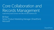 Module 3.5 Core Collaboration and Records Management