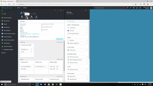 How to back up Azure Resource Managed VMs to a Recovery Services vault
