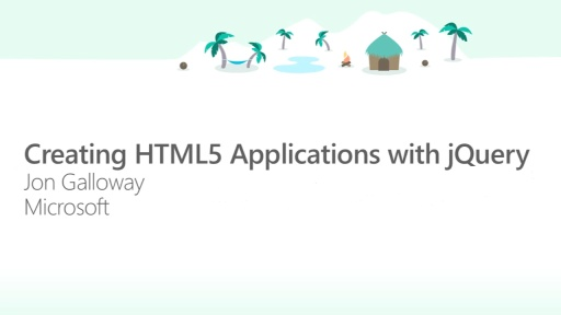 Creating HTML5 Applications with jQuery