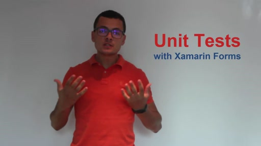 Creating Unit Tests for Xamarin Forms Apps