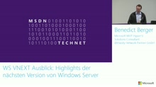 Windows Server vNext: Highlights der kommenden Version