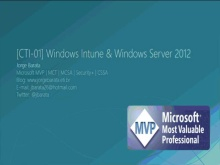 Windows Intune e Windows Server 2012