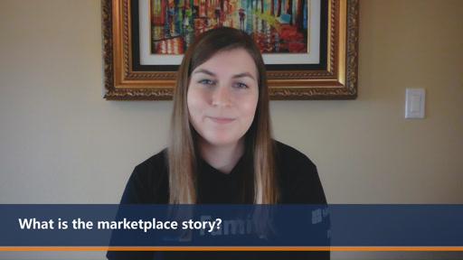 What is the marketplace story? | One Dev Question