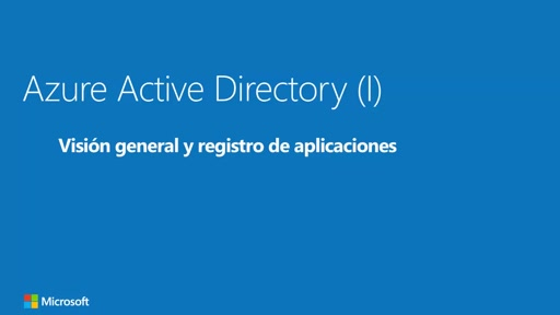 Azure Active Directory: visión general y registro de aplicaciones