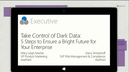 AvePoint: Take Control of Dark Data: 5 Steps to Ensure a Bright Future for Your Enterprise