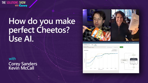 How do you make perfect Cheetos? Use AI.