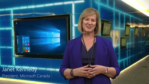 Janet Kennedy: The Microsoft Canada Cloud is Open for Business