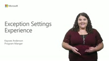 Revamped Exception Settings Experience in Visual Studio 2015