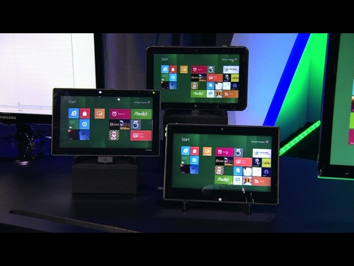 Microsoft Reveals Many New Shapes and Sizes of Hardware for Windows 8