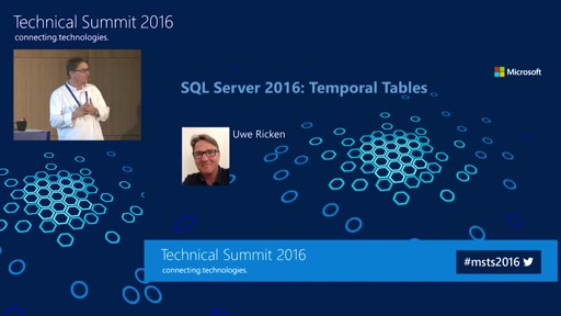 SQL Server 2016: Temporal Tables