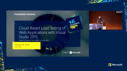 Cloud-Based Load Testing of web applications with Visual Studio 2015