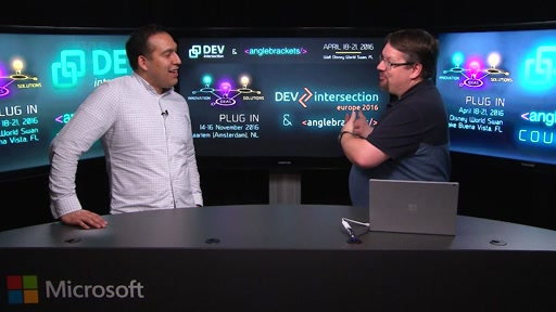 Welcome to DevIntersection Spring 2016 CountDown Show #1!
