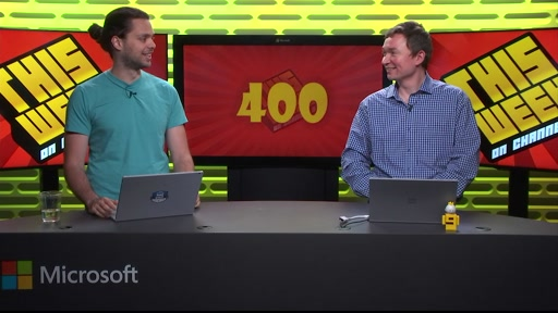 TWC9: 400! #SpringIntoDevOps, Windows 10 1703 & SDK Out, Project Scorpio Revealed and more...