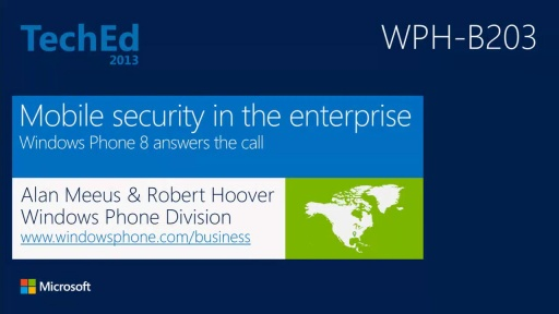 Mobile Security in the Enterprise: Windows Phone 8 Answers the Call