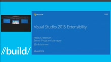 Visual Studio 2015 Extensibility