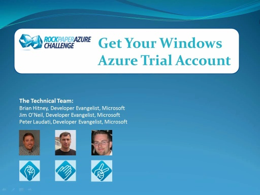 RockPaperAzure Spring Fling: Get Your 90-day Trial Account