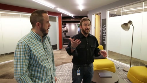 Microsoft Campus Tours - Building 20 Remodel