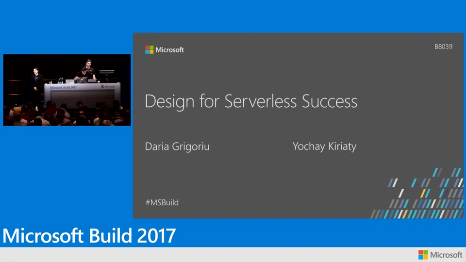 Design for serverless success on Microsoft Azure