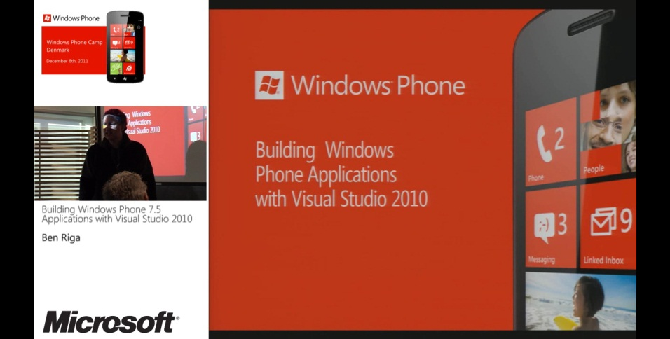Dev02 - Building Windows Phone 7.5 Applications with Visual Studio 2010