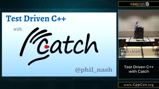 Test Driven C++ with Catch