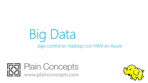 Big Data bajo control en Hadoop