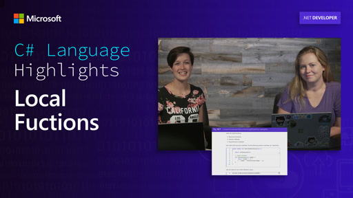 C# Language Highlights: Local Functions