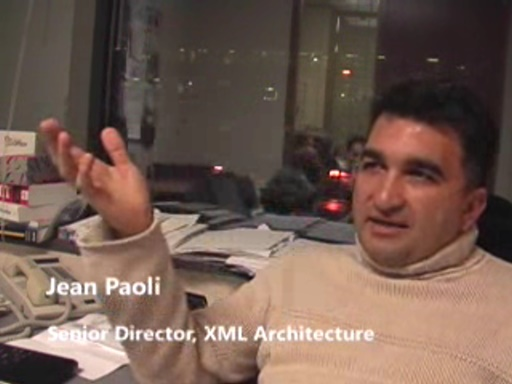 Jean Paoli - Co-creator of XML, part II