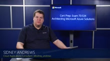 70-534: Architecting Microsoft Azure Solutions