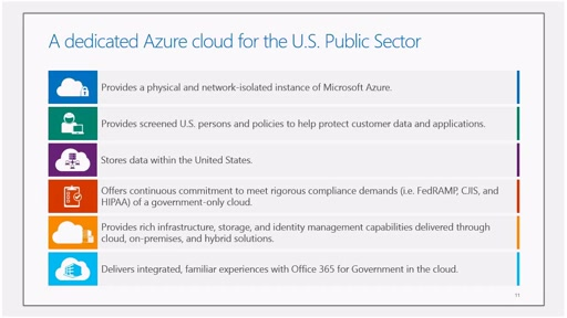 Azure Government Overview