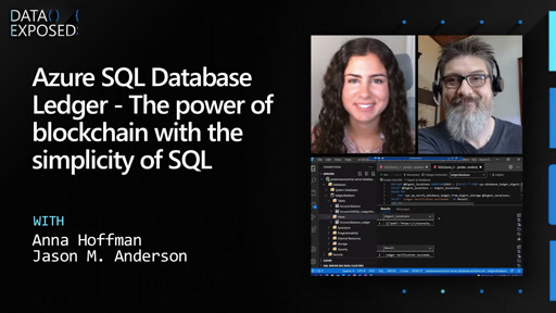 Azure SQL Database Ledger - The power of blockchain with the simplicity of SQL