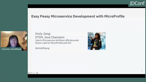 Easy Peasy Microservice Development with MicroProfile