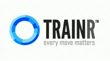 my app in 60 seconds: TRAINR