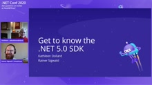 Get to know the .NET 5.0 SDK